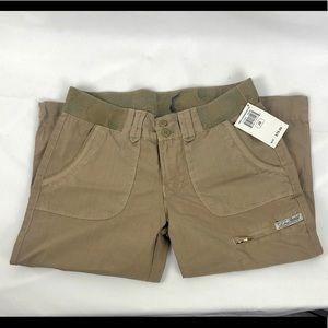 Lucky Brand capri beige pants